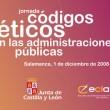 Códigos Éticos en las Administraciones Públicas.