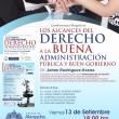 Conferencia Jaime Rodríguez Arana en el Colegio de Abogados de Arequipa