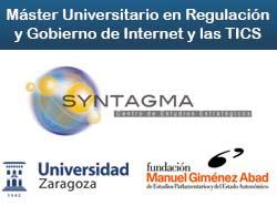 Máster Universitario en Regulación y Gobierno de Internet y las TICS