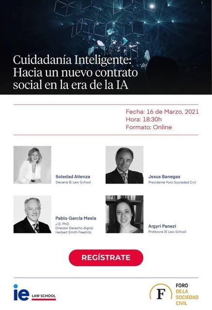 Presentación informe: Ciudadanía Inteligente. Hacia un nuevo contrato en la era de la IA